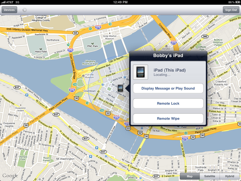 Find My iPhone Beeyach!